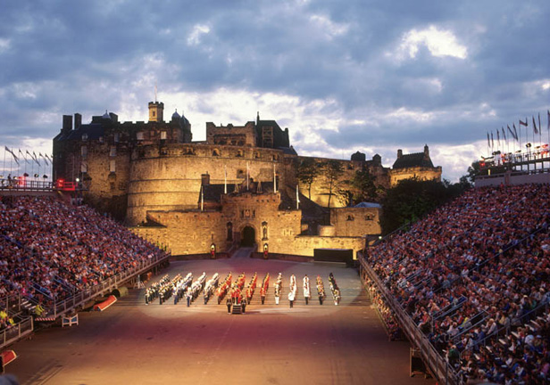 Military tattoo package in crown plaza royal terrace hotel for 18 royal terrace
